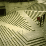Ramp and stairs combined